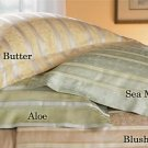 New Sferra Chantal Pillow Sham-Boudoir-Sea Mist