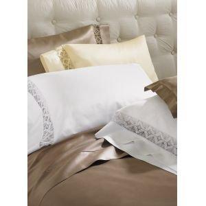 New Sferra Harlow 590 Thread Count Pillow Sham-Standard