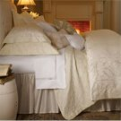 1 PR White  Sferra Brielle 1020 Thread Count Standard Sham-White