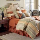 Sferra Blake  Luxury Bedding Continental Sham-600 Thread Ct.-Almond