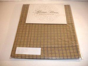 Pr. NIP Sferra Milan Luxury Bedding Pillow Shams Pillow Shams-Wheat-Euro