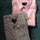 New men's fashion authentic shirts cotton Tanks Clothing Gray Size L open suit
