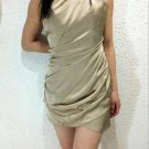 New women's fashion Casual champagne dress evening dress party dress gift Size UK 14/US 12