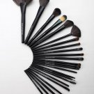 24pcs (Black) Cosmetics Makeup Brushes Beauty MakeUp Tool Set Foundation Powder Brush Kit With bag