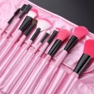 24pcs(PINK) Cosmetics Makeup Brushes Beauty MakeUp Tool Set Foundation Powder Brush Kit With Bag