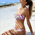 Women's Sexy floral Bikini set swimwear bathing suit low waist beachwear gift swimsuit