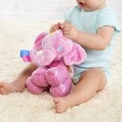 Elephant Soft Stuffed Plush Crib Bed Hanging Hand Rattles Baby Toys Teddy Gift Dolls