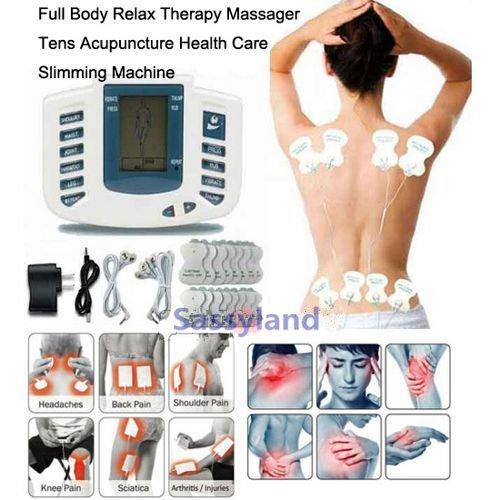 16pads Electrical Full Body Relax Muscle Therapy Massager Pulse tens Acupuncture Slimming Machine