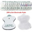 20Pcs/lot Electrode Pads Tens Acupuncture Digital Therapy Machine Massager healthy pad Replacement