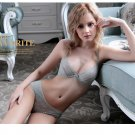 3 Colors Women's sexy vintage embroidery bra sets underwear 32 34 36 38 40 42 ABCD