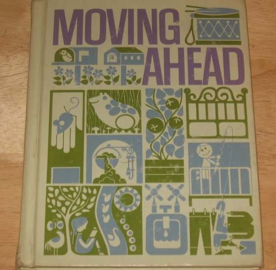 The Open Highway Series-Moving Ahead-Vintage Scott Foresman Reader