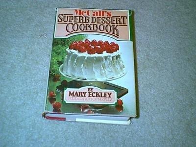 McCall's Superb Dessert Cookbook-HC/DJ
