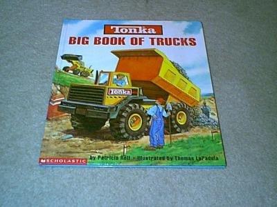 Tonka Big Book of Trucks-Large Scholastic Hardcover