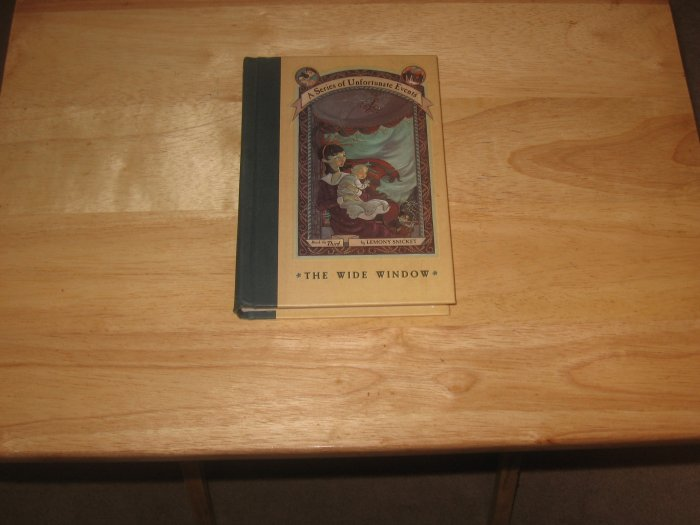 The Wide Window-A Series of Unfortunate Events-By Lemony Snicket