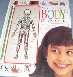 My First Body Book-Nice Dorling Kindersley Hardcover