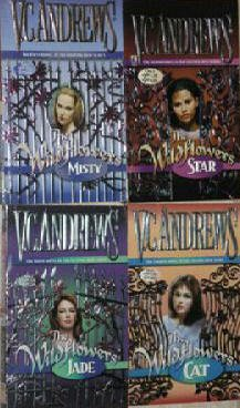 Set of 4 By V.C. Andrews-The Wildflower Series