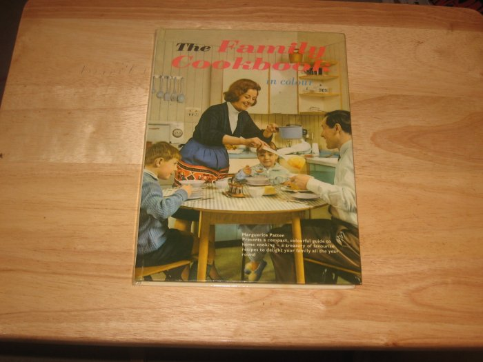 THE FAMILY COOKBOOK-Vintage 1965 Hardcover