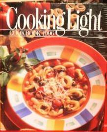 COOKING LIGHT COOKBOOK 1996-Hardcover w/Dustjacket
