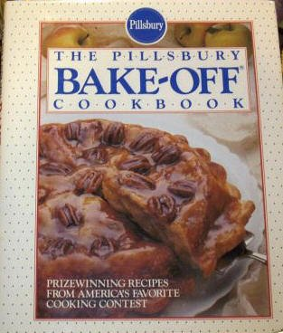 The Pillsbury Bake-Off Cookbook-1990 First Edition Hardcover w/Dustjacket