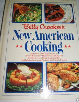 Betty Crocker's New American Cooking-Nice Hardcover