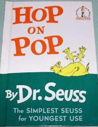 HOP ON POP By Dr. Seuss-I Can Read It Book
