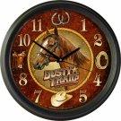 "Dusty Trails Tack & Saddle Company 16"" Wall Clock"