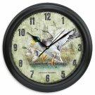 """Portrait Series 11.5"""" Mallard Duck Wall Clock"""
