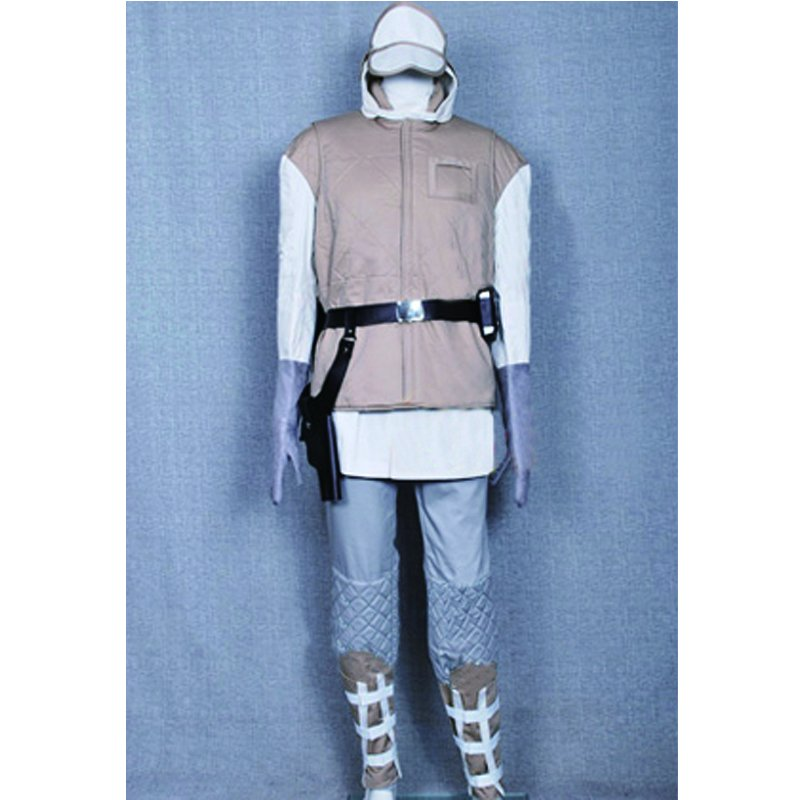 Star Wars ESB Luke Hoth Rebel Soldier Trooper Uniform Costume