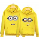 3D Minions Sweatershirt Winter Warm Adult Lovers jacket
