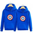 The Avengers Captain America shield hooded sweater