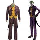 Batman Dark Night Joker Violet Cosplay Costume