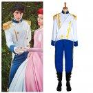 The Little Mermaid prince Costume Cosplay Custom