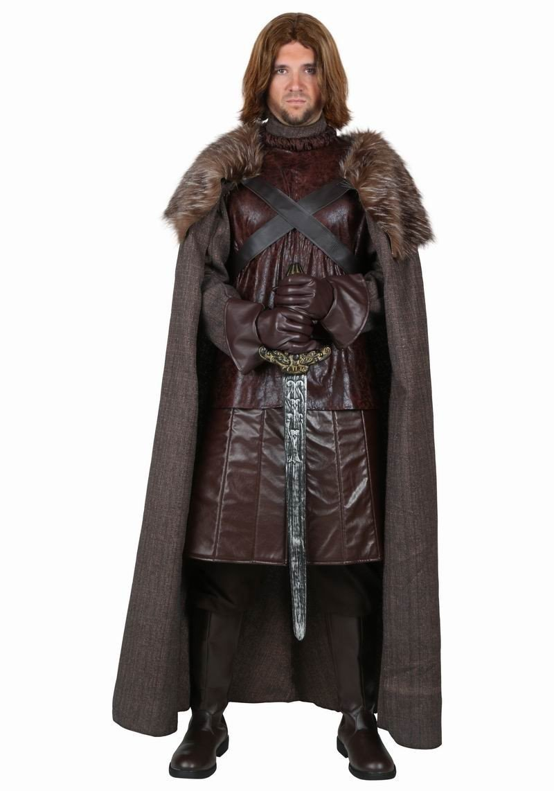 Game Of Thrones Jon Snow Costume Warriors of the North Costume Custom Made