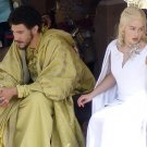 Game of Thrones 5 Daenerys Targaryen White Dress Custom Made