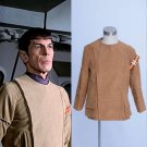 Star Trek The Motion Spock Kirk Brown Jacket