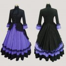 ROCOCO gothic prom ball gowns lolita long dress victorian evening Gothic medieval princess dress