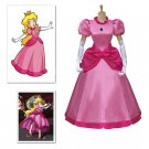 Super Mario Bros Peach Princess Toadstool Peach dress