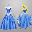 Sleeping Beauty Princess Aurora Bule Dress custom made