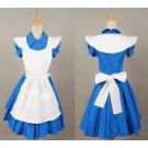 Alice In Wonderland Movie Dress Costume Maid Costume