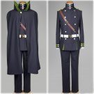 Free Shipping Seraph of the End Yuichiro Hyakuya Costume Cosplay Adult Mens Outfit Costume