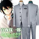 Free Shipping Seraph of the End Anime Yuichiro Hyakuya adult Mens Outfit Costume