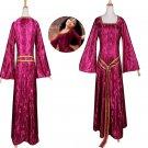 Rapunzel Tangled Mother Gothel Medieval Dress Costume Adult Dress