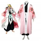 Custom Made Bleach 8th Division Captain Kyouraku Shunsui Cosplay Costume