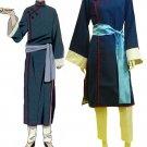 Black Butler Kuroshitsuji Lau Blue Cheongsam costume fancy party outfit