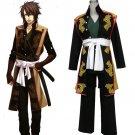 Hakuoki Cosplay Costume Okita Souji Mens Cosplay Outfit