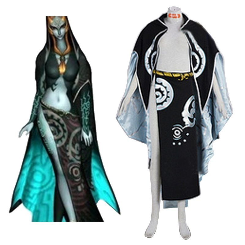 The Legend of Zelda Midna Cosplay Costume Custom made