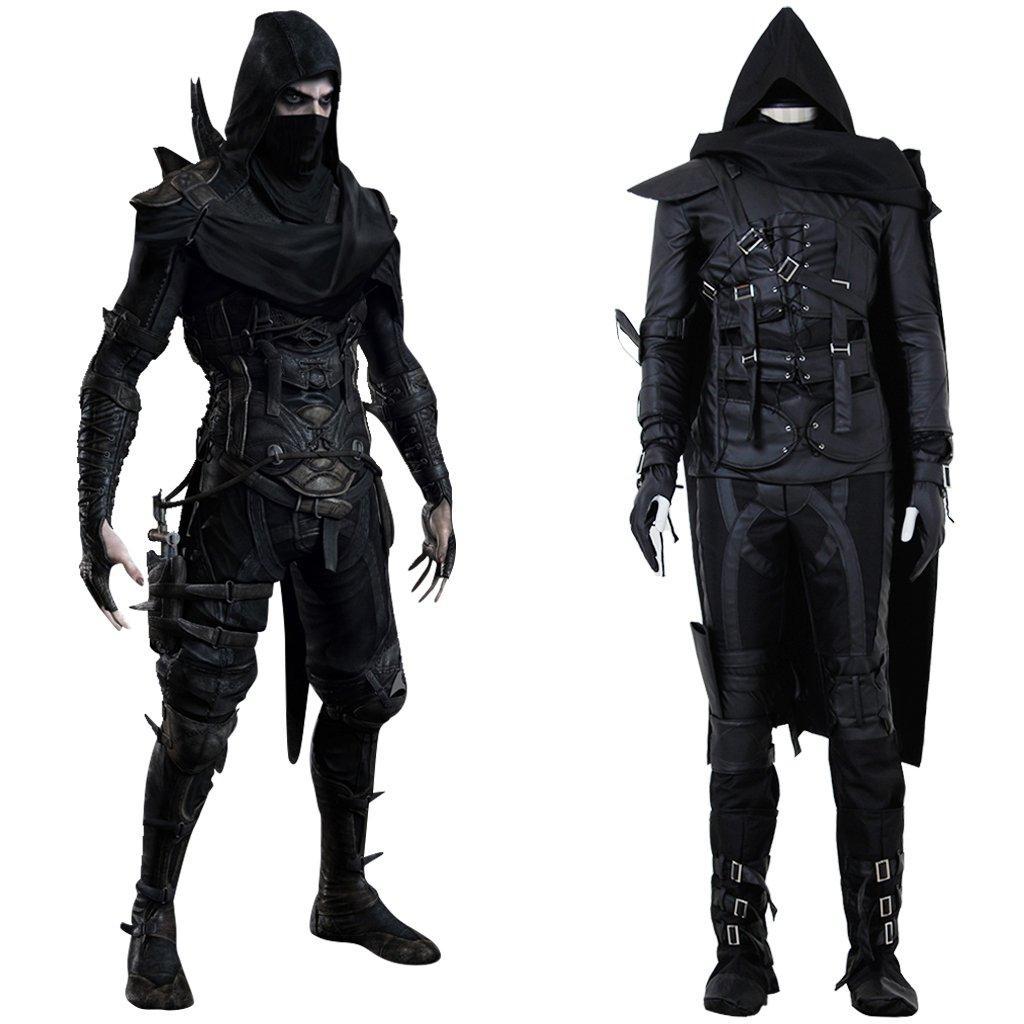 Custom Made Adult Mens Game Thief 4 Garrett Cosplay Costume
