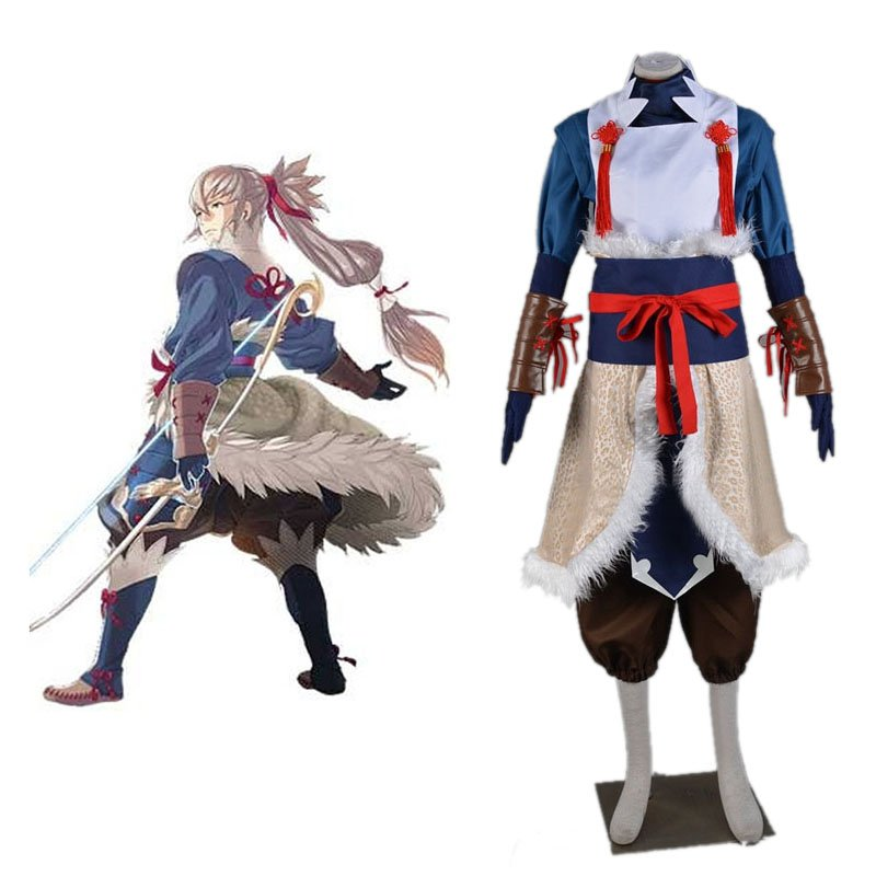 Takumi Cosplay Costume from Fire Emblem Fates Halloween Costume