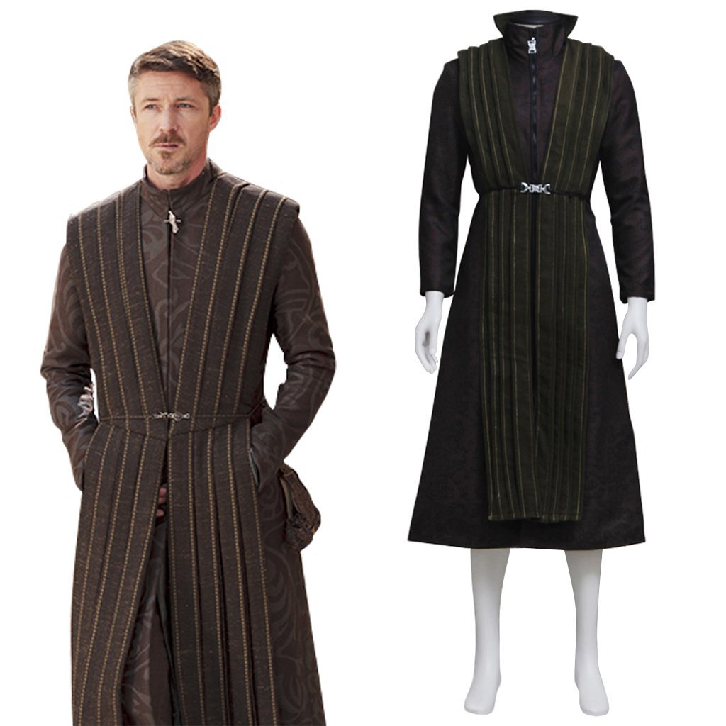Game of Thrones Petyr Baelish little finger Costume Cosplay C1027