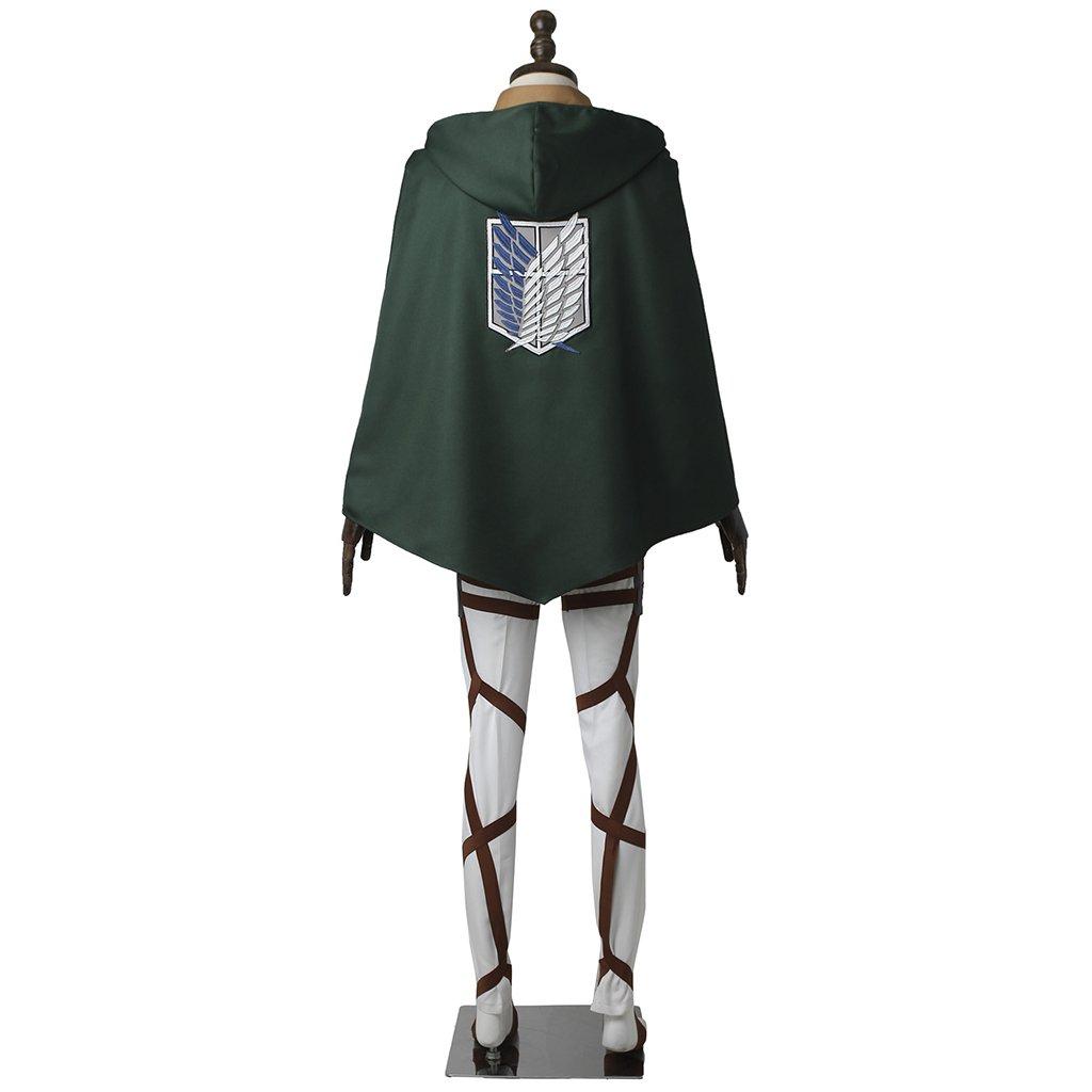 Attack on Titan Rivaille Cosplay Costume Shingeki no Kyojin Halloween costumes
